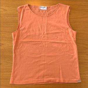 Chanel Cashmere Shell/ Tank Top